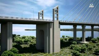 Фильм о строительстве моста на остров Русский