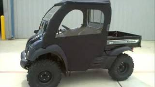 8. Review: 2012 Kawasaki Mule 610 XC 4X4 with Kawasaki Accessory Soft Cab!