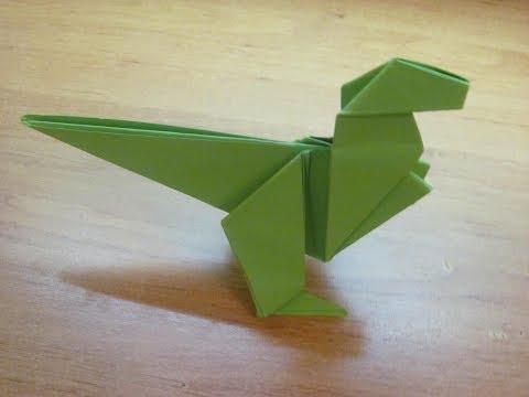 Как сделать динопарк из бумаги