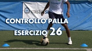 ESERCIZIO 26 - LIVELLO MEDIUM - CONTROLLO DEL PALLONE
