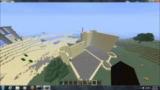 Minecraft Timelapse (Brookes Castle Design)