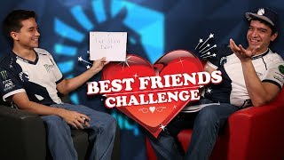 Chudat and Chillin take the Best Friends Challenge presented by HyperX