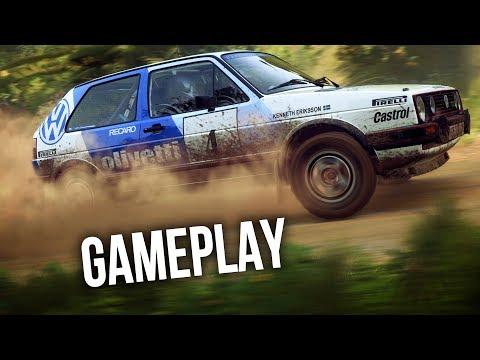 игрового процесса dirt rally