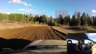 MLRC rallycross event on October 26th in Bancroft, Ontario.Minky's last run of the day and his fastest.