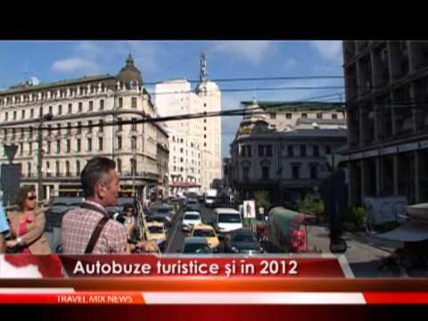 Autobuze turistice şi în 2012