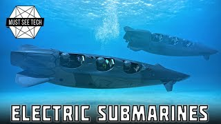 10. 5 Personal Electric Submarines for Quiet Underwater Exploration and Deep Sea Adventures