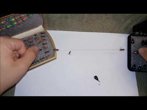 удочка гирлянда своими руками часть 1 ручка