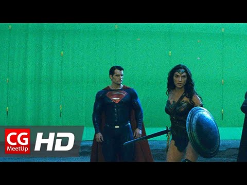Here s a Look at Batman v Superman Dawn of Justice Before and After Visual