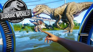 Jurassic World Evolution - NEW GYROSPHERE vs MUTATED INDOMINUS - Jurassic World Evolution Gameplay