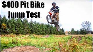 9. SSR Pit Bike Jump Test... Will It Break?