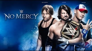 WWE No Mercy 2016 FULL MATCH CARD Preview & Predictions :: Smackdown LIVE Special Event!