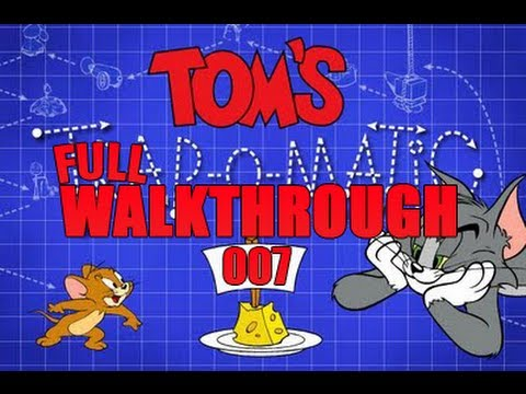 Tom and Jerry: Tom's Trap-O-Matic FULL Walkthrough *HD*
