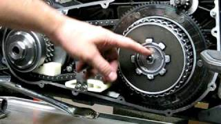 4. Stator Repair - 3d of 9 - Clutch Installation - Torq specs.AVI