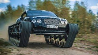 Takim terenowym Bentleyem chyba każdy chciałby się przejechać. Robi wrażenie