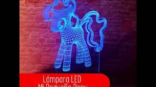 Lámpara LED Mi Pequeño Pony