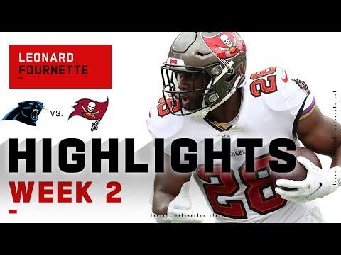 Leonard Fournette Is Back w/ 103 Rushing Yds & 2 TDs | NFL 2020 Highlights
