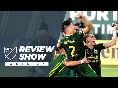 Video: Timbers' last-second winning goal, Nani's chip, & VAR drama | Review Show Week 27