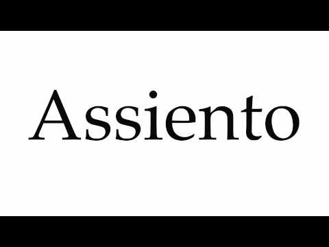 How to Pronounce Assiento