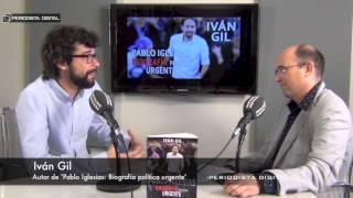 Iván Gil, autor del libro 'Pablo Iglesias, Biografía Política Urgente'. 14-4-2015