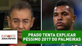 Comentarista Flavio Prado, da Rádio Jovem Pan, tentou explicar o péssimo 2017 do Palmeiras.