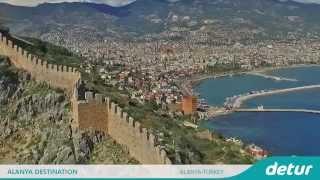 Alanya Turkey  city photo : Alanya Turkey Travel Video | Holiday in Alanya Turkey | Detur