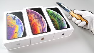 New iPhone XS and XS Max Unboxing (Gold & Silver) Fortnite Battle Royale + Apple Watch Series 4
