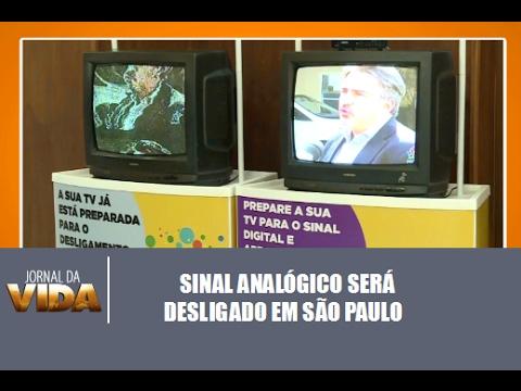 Sinal analógico será desligado em março em SP - Jornal da Vida 17/02/2017