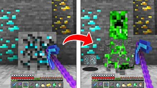 Minecraft but every drop is a random mob...