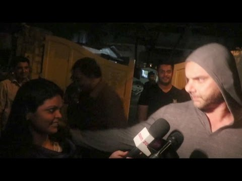 Sohail Khan Misbehaves and Abuses Female Reporters