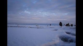 Рыбалка на финском заливе 2017 март 11
