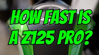 9. Kawasaki Z125 Pro - Top Speed Run