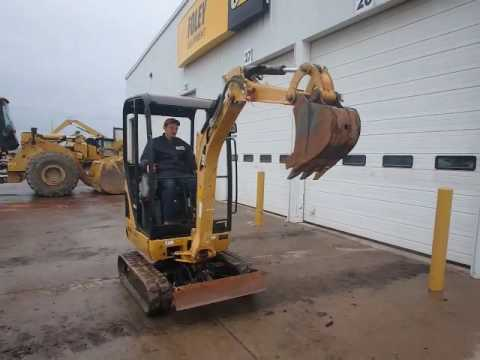 CATERPILLAR EXCAVADORAS DE CADENAS 301.4C equipment video tajJ4bX0S_s