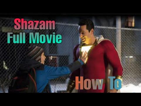 How to download Shazam full movie in Hindi/English?