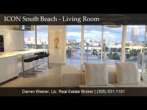 ICON South Beach #907, Miami Beach Luxury Real Estate, ICON South Beach for Sale, ICON South Beach