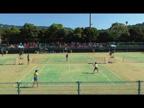 2017 全国中学校ソフトテニス大会 女子団体戦決勝?