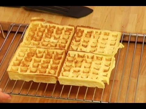 pate a gaufre traditionnelle}