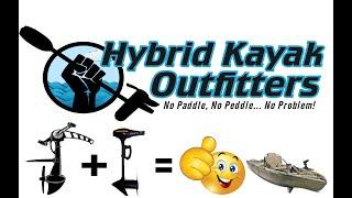 Native Watercraft Kayak Trolling Motor Kit While Keeping The Propel Pedal Drive Unit Functional