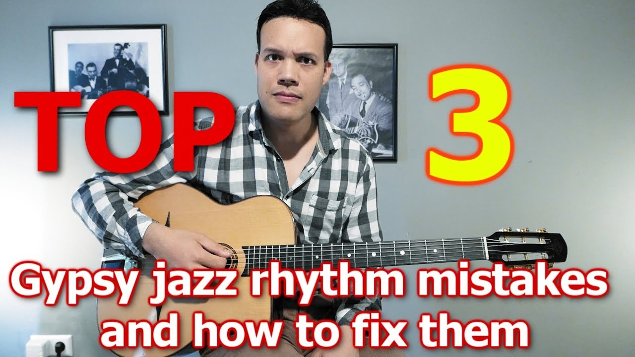 Top 3 rhythm guitar mistakes and how to fix them (Samoreau 2018)