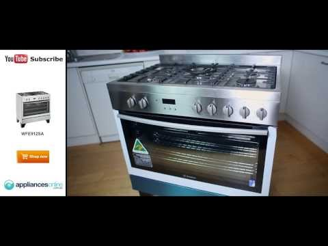 Expert with the WFE912SA freestanding Westinghouse Dual Fuel Oven/Stove - Appliances Online