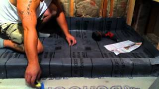 How to remodel a bathroom ( custom shower pan) 11