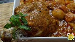 Lamb Leg Roast Curry - Raan E Khaas  - By Vahchef @ Vahrehvah.com