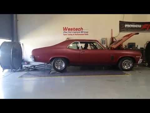 1970 CHEVY NOVA BUILD PT 28 DYNO TIME AT WESTECH PERFORMANCE