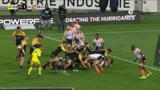 Hurricanes v Cheetahs Rd.13 Super Rugby Video Highlights 2017
