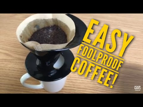 Melitta Pour Over Coffee Brewer - Foolproof Coffee!