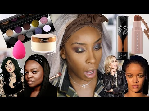Full Face of WOMEN OWNED Beauty Brands!  Jackie Aina