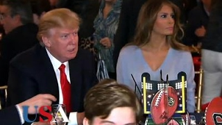 Subscribe for more election news! http://bit.ly/1Uj0M4f President Donald Trump headed to Florida for a working Super Bowl weekend at his Mar-a-Lago resort. D...