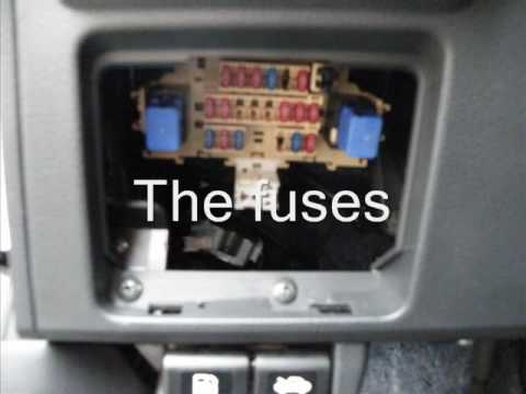 Week 14: Where are the Fuses in my Nissan Versa?
