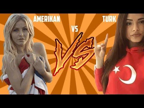 Türk Kızı vs Amerikan Kızı - Sosyal Deney