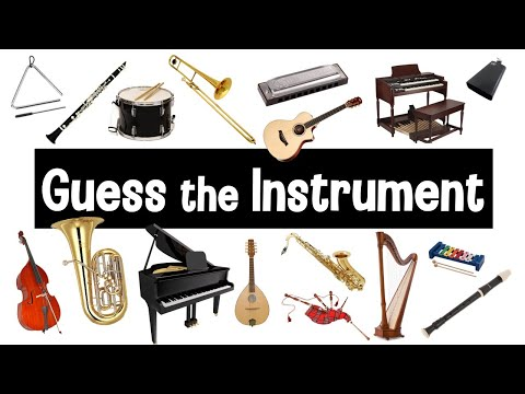 Guess the Sound | Musical Instruments Quiz | Instrument Sounds