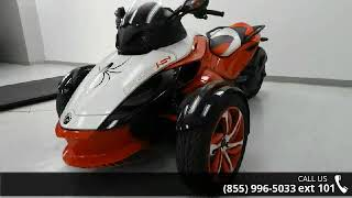 5. 2015 Can-Am® Spyder® RS-S Special Series 5-Speed Semi-A...